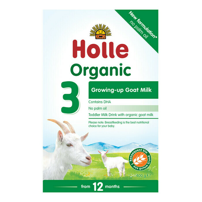 Holle Organic Goat Milk Follow-on Formula 3 with DHA