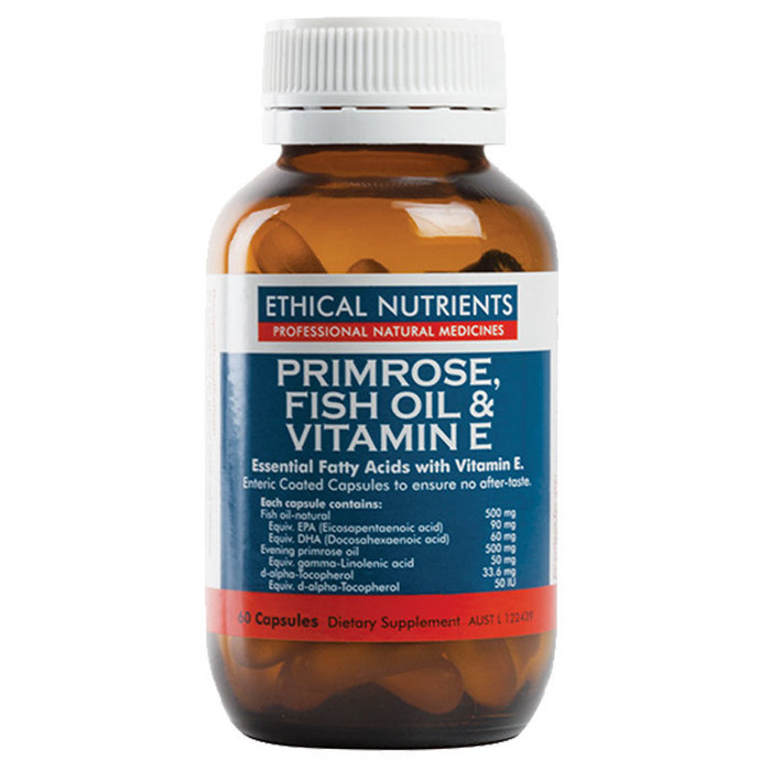 Ethical Nutrients Primrose, Fish Oil & Vitamin E