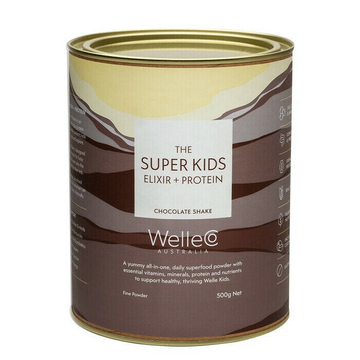WelleCo Super Kids Nourishing Plant Protein - Chocolate