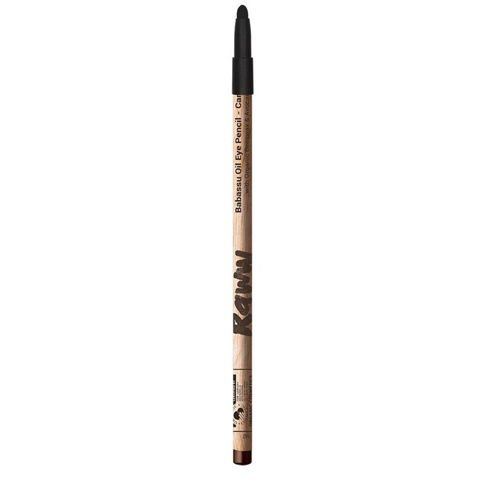 Raww Babassu Oil Eye Pencil - Carbon