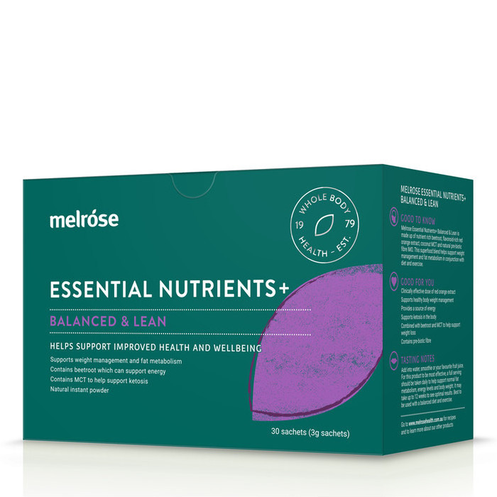 Melrose Essential Nutrients+ Balanced and Lean