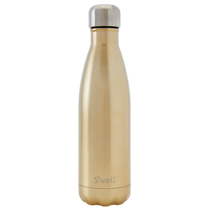 S'well Insulated Bottle Glitter Collection - Sparkling Champagne