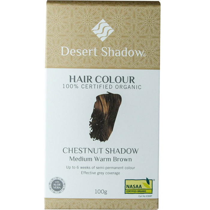 Desert Shadow Organic Hair Dye - Chestnut Shadow