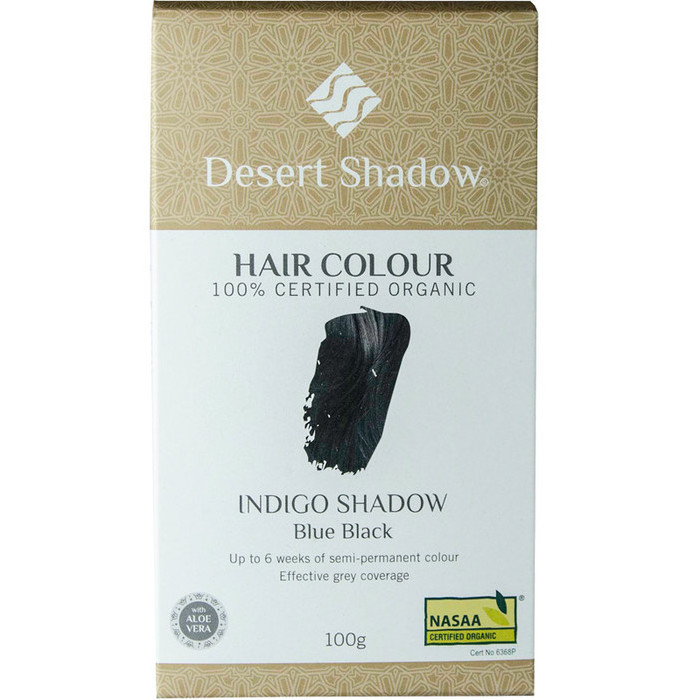 Desert Shadow Organic Hair Dye - Indigo Shadow