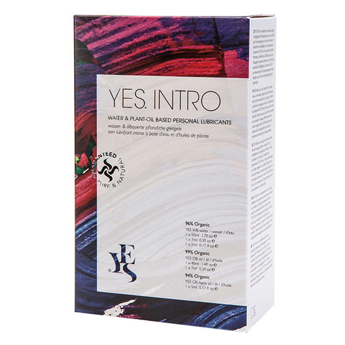 Yes Water Based & Plant-Oil Based Personal Lubricants Trial Pack
