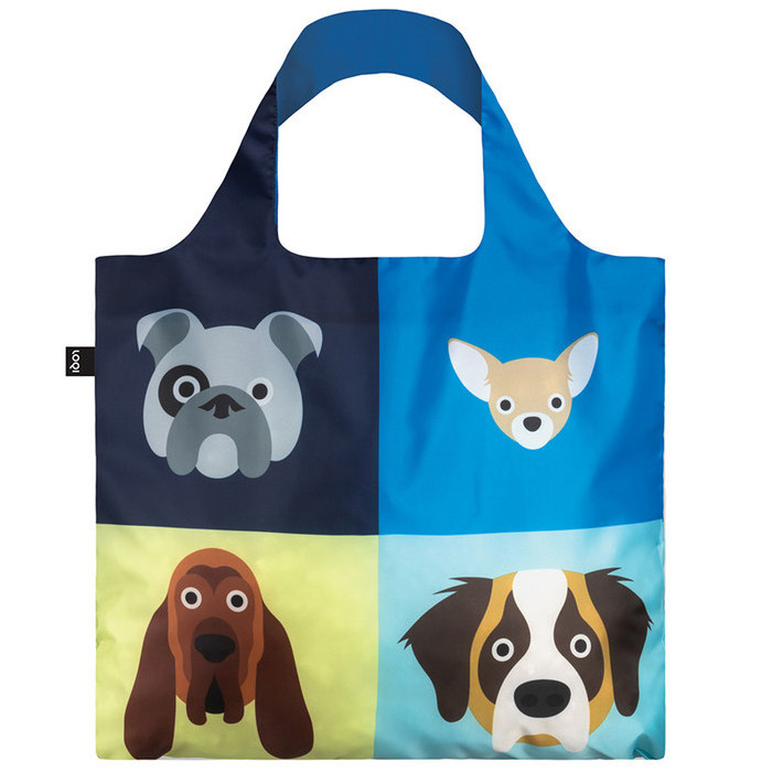 Loqi Stephen Cheetham Dogs Tote Bag