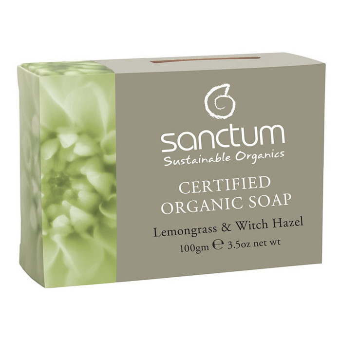 Sanctum Organic Soap - Lemongrass & Witch Hazel