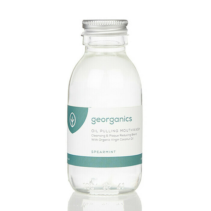 Georganics Oil Pulling Mouthwash - Spearmint
