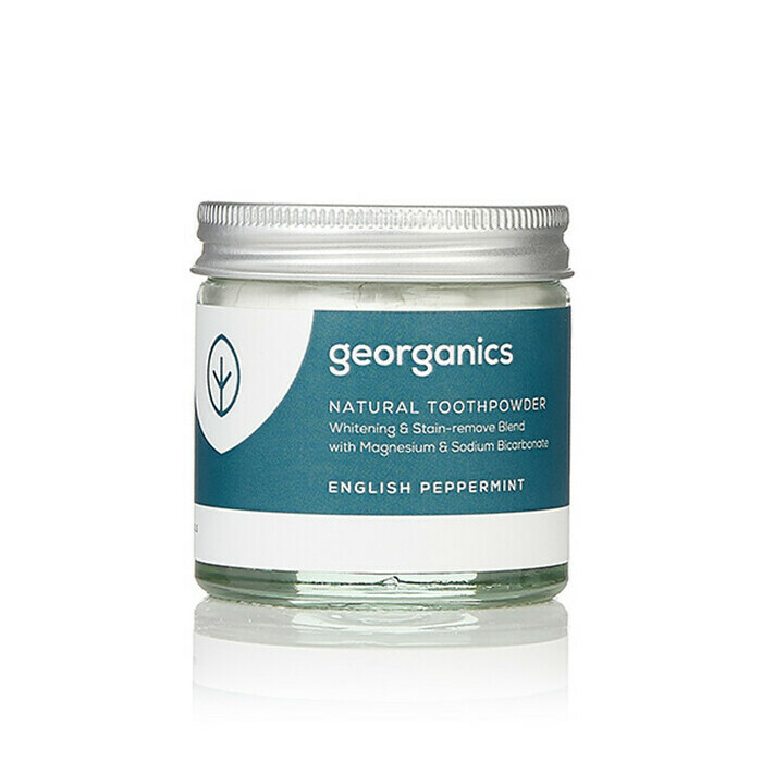 Georganics Natural Toothpowder - Peppermint