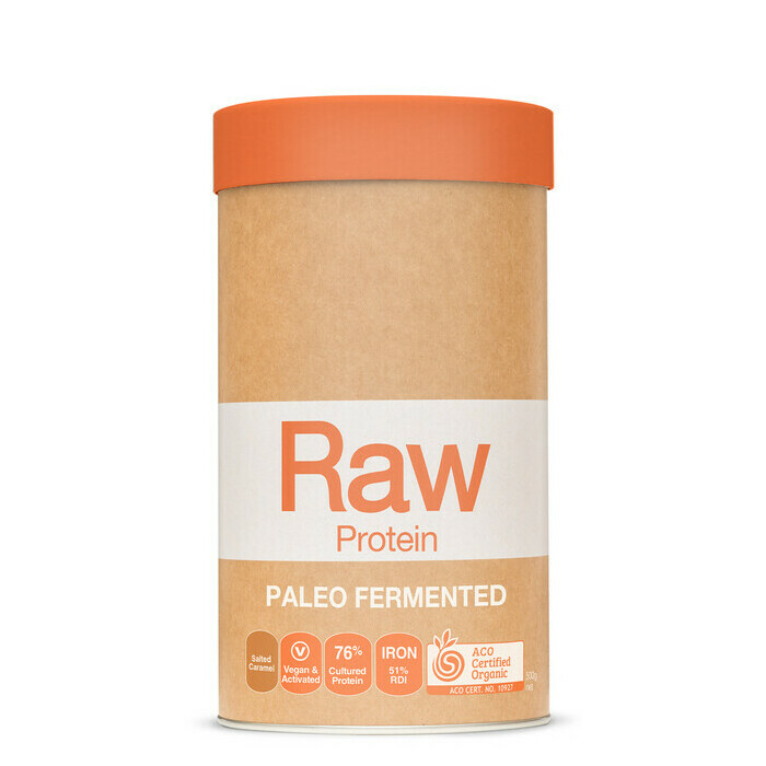 Amazonia Raw Fermented Paleo Protein - Salted Caramel Coconut