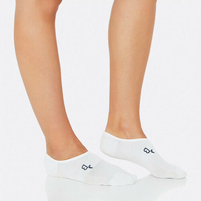 Boody Women's Invisible Active Sports Sock - White