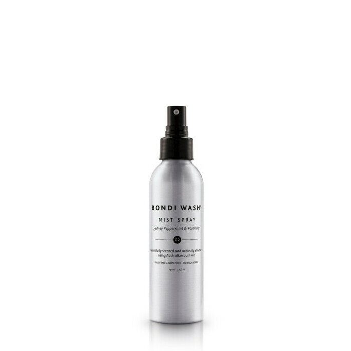 Bondi Wash Mist Spray for Rooms & Linens - Sydney Peppermint & Rosemary 02