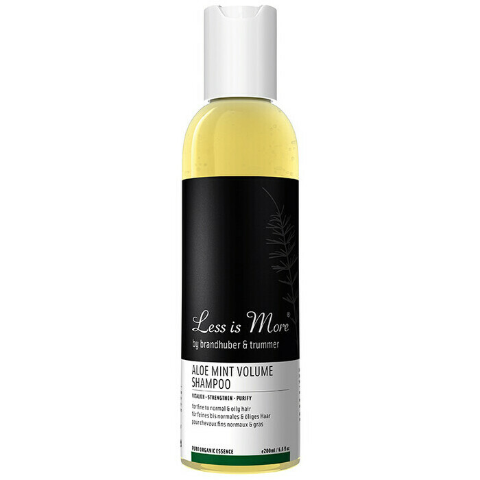 Less is More Aloe Mint Volume Shampoo