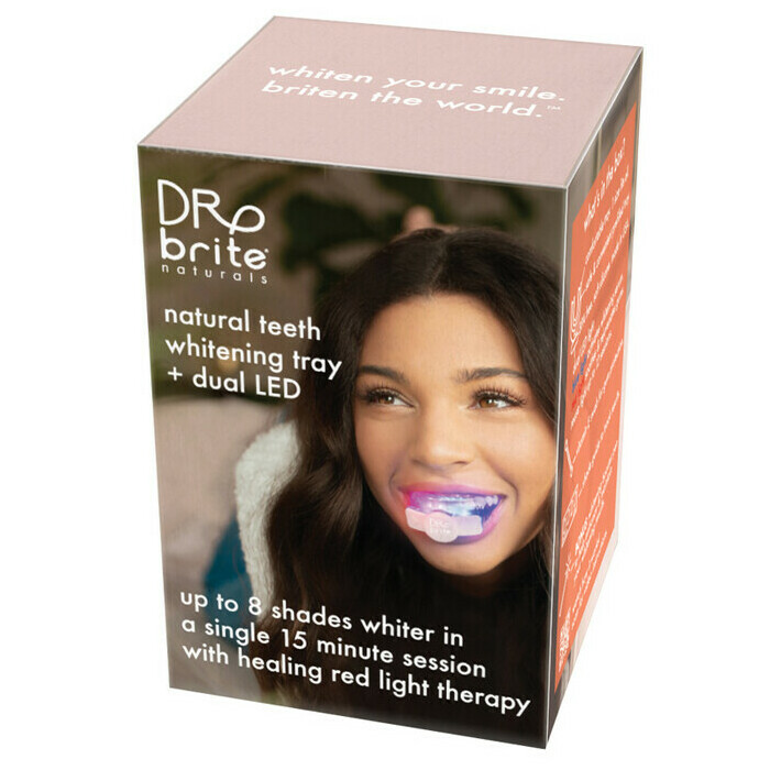 Dr Brite Teeth Whitening Tray w/ LED - Mint