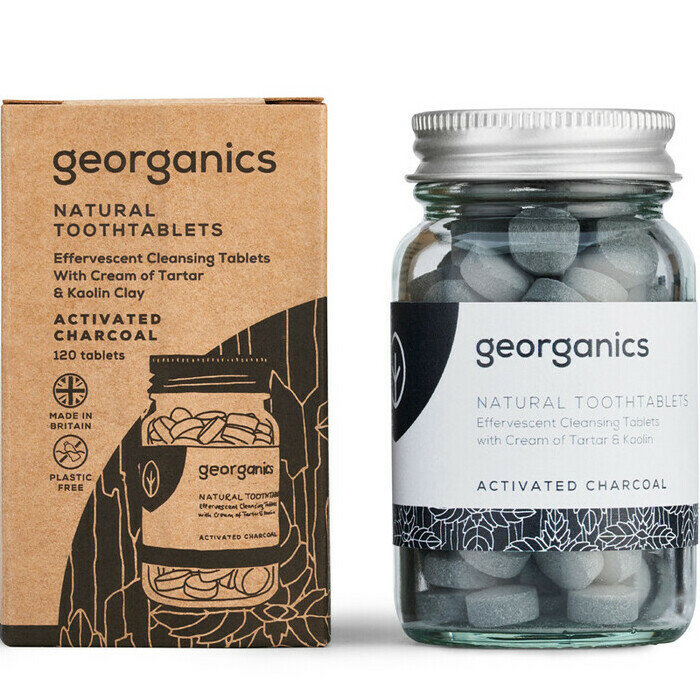 Georganics Natural Toothtablets - Activated Charcoal