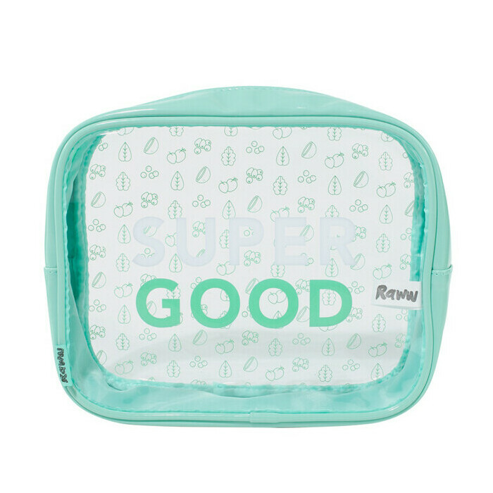Raww Super Good Toiletry Bag - Mint