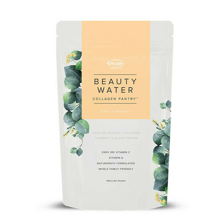 Morlife Collagen Pantry Beauty Water - Zesty C Protect