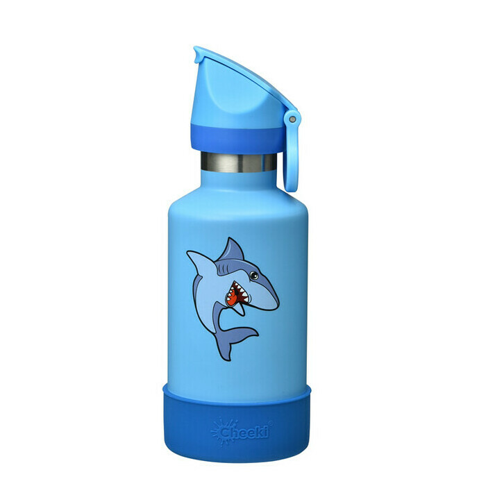 Cheeki Insulated Kids Water Bottle Sammy the Shark