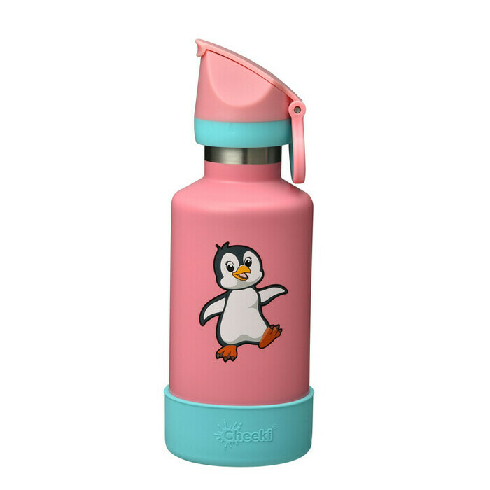 Cheeki 400ml Insulated Kids Bottle - Pia the Penguin