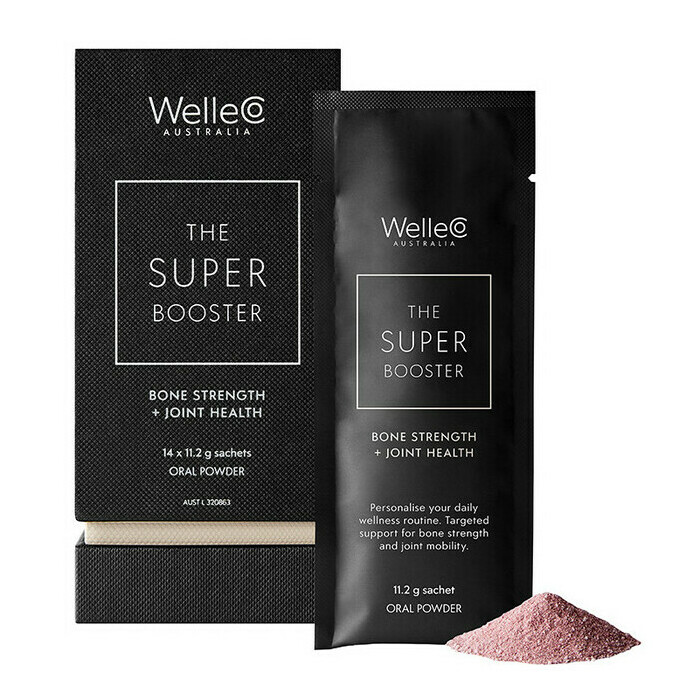 WelleCo Super Booster - Bone Strength + Joint Health