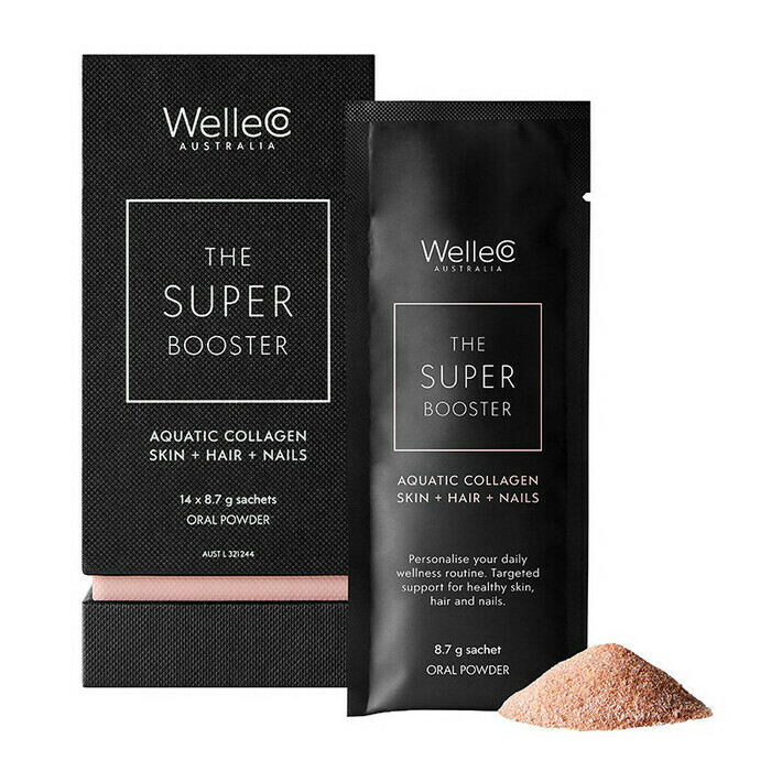 WelleCo Super Booster - Aquatic Collagen Skin + Hair + Nails