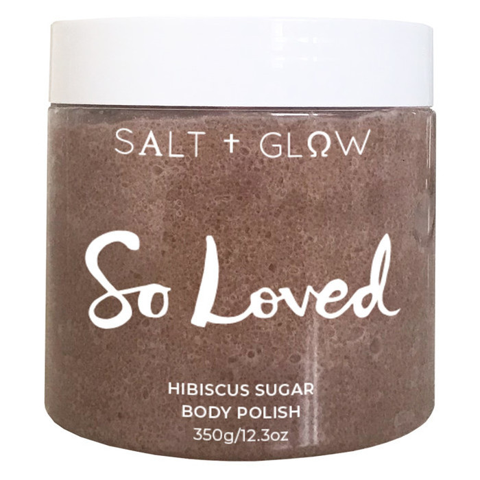 Salt + Glow Body Polish - So Loved (Hibiscus Sugar)