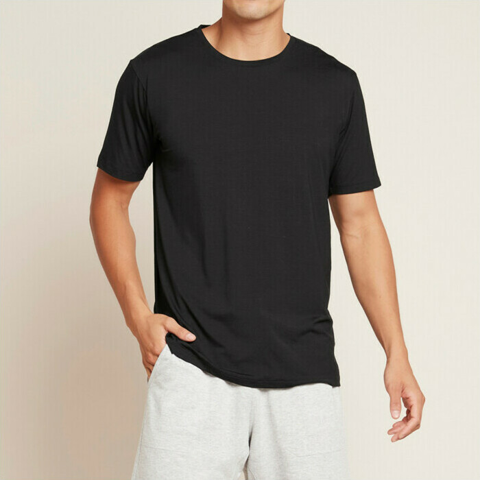 Boody Men's Crew Neck T-Shirt - Black