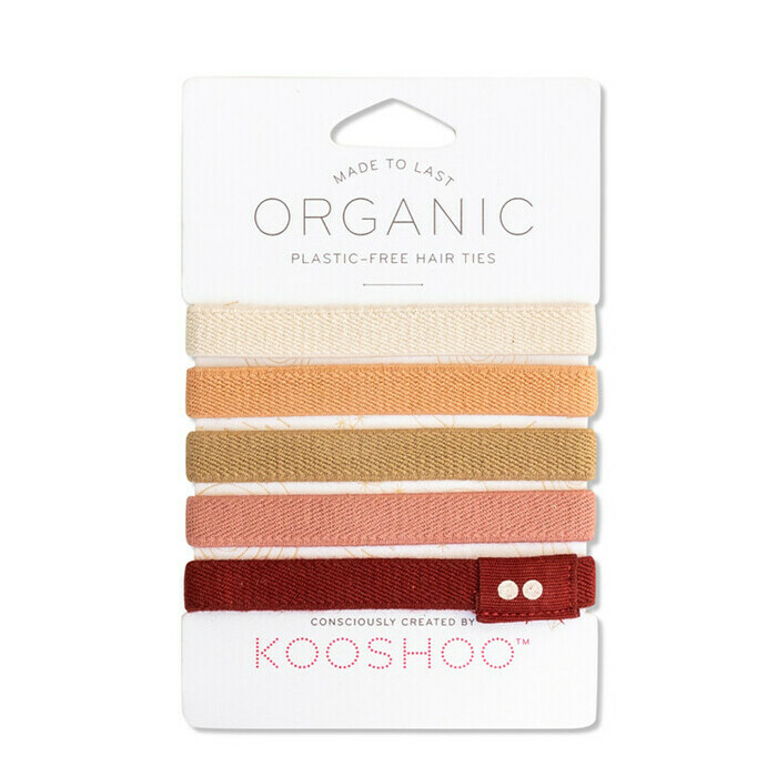KOOSHOO Hair Ties - Ginger