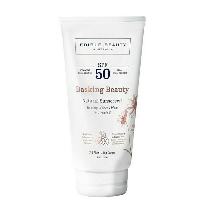 Edible Beauty Basking Beauty Natural Sunscreen SPF 50