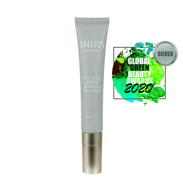Inika Phytofuse Renew Resveratrol Eye Cream