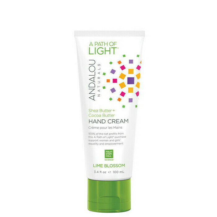 Andalou Naturals A Path of Light® Lime Blossom Hand Cream