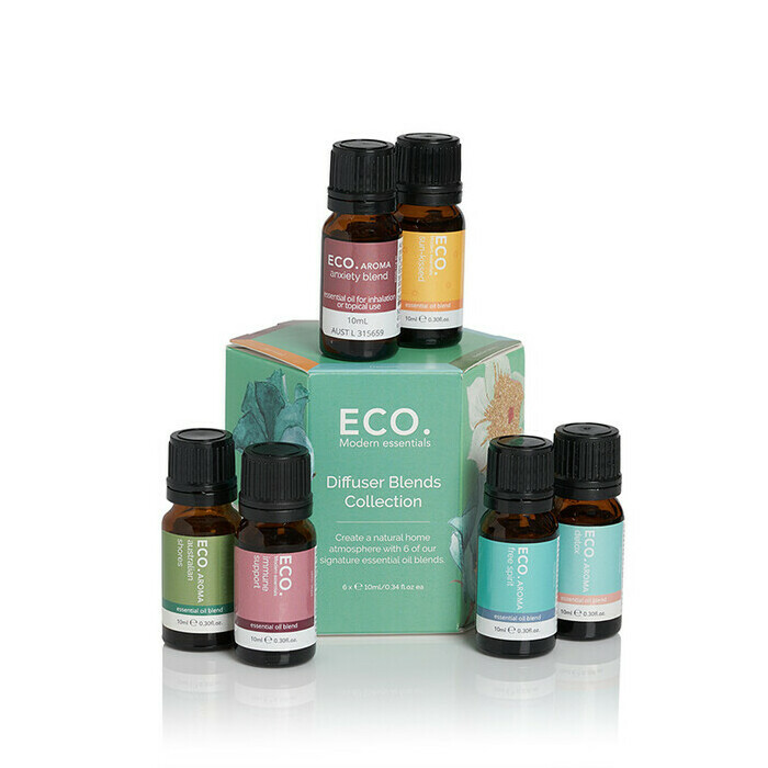 ECO. Diffuser Essential Oil Blend 6 Pack