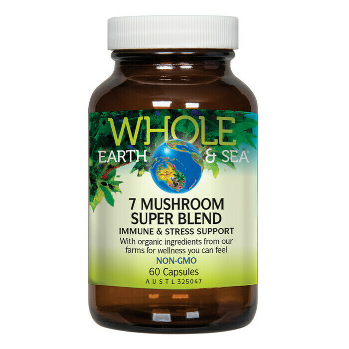 Whole Earth and Sea 7 Mushroom Super Blend