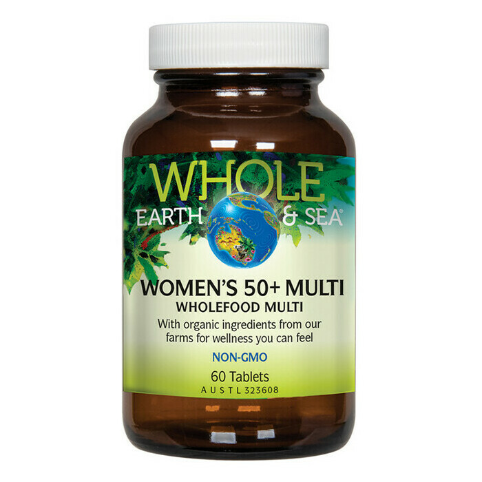 Whole Earth and Sea® Women's 50+ Multivitamin