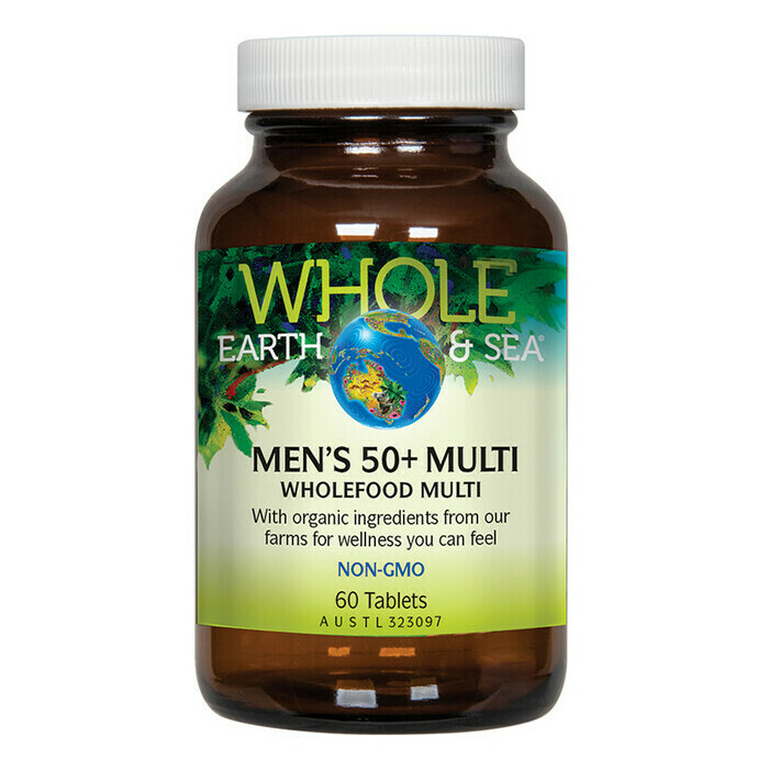 Whole Earth & Sea Men's 50+ Multivitamin