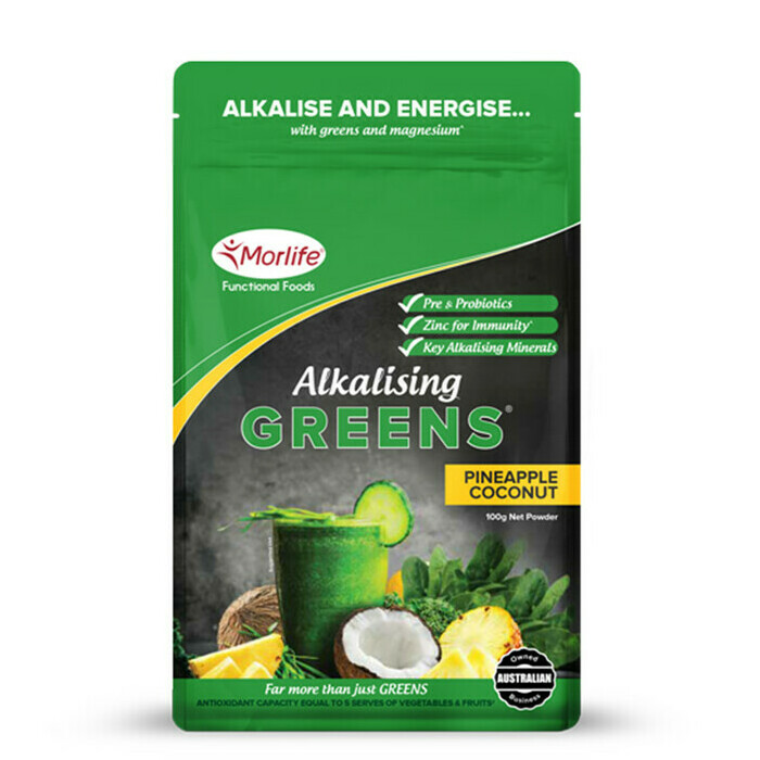 Morlife Alkalising Greens® Pineapple Coconut