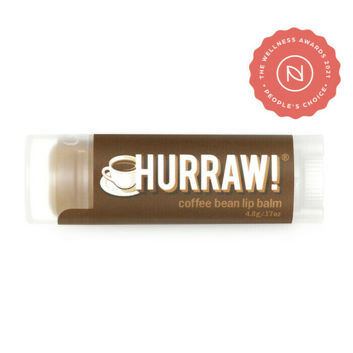 Hurraw! Organic Lip Balm - Coffee Bean