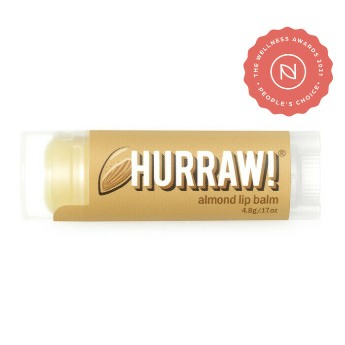 Hurraw! Organic Lip Balm - Almond