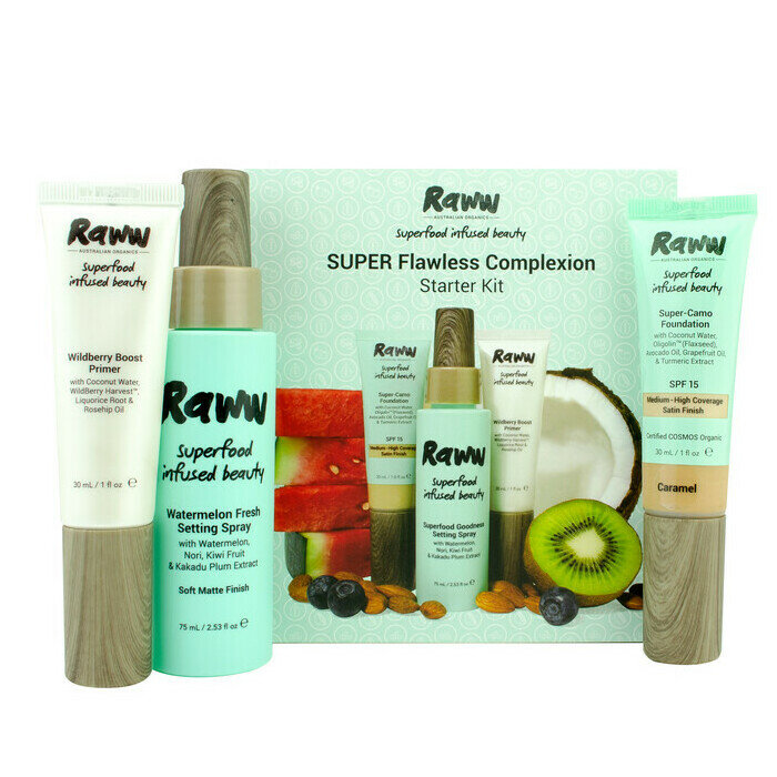 Raww Super Flawless Complexion Kit