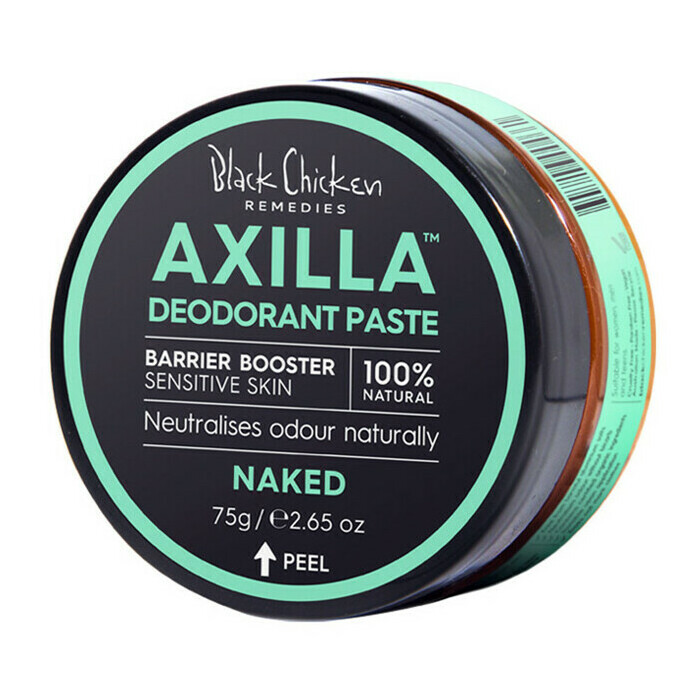 Black Chicken Remedies Black Chicken Axilla™ Deodorant Paste Barrier Booster - Naked