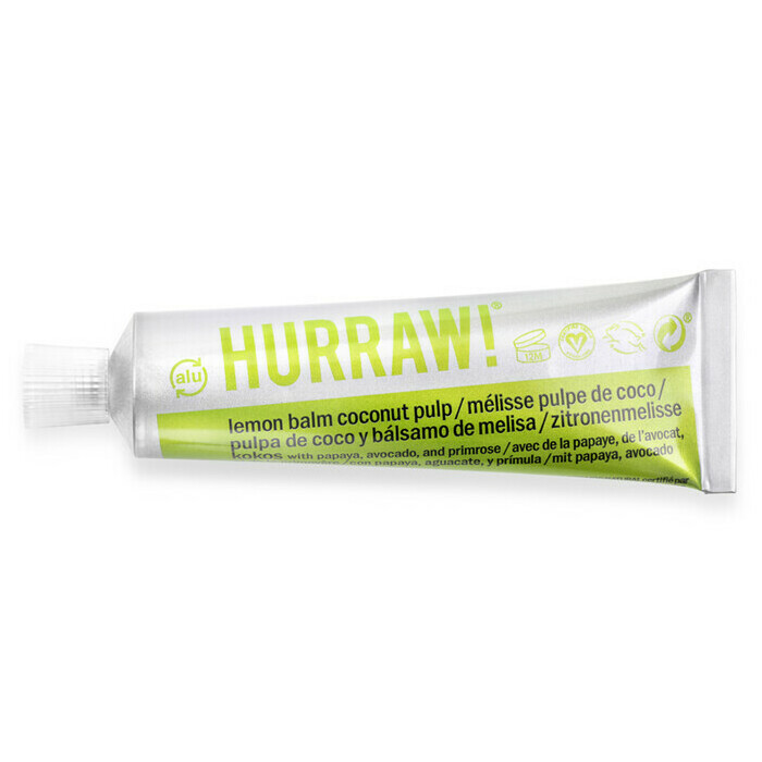 Hurraw! BALMTOO Lemon Balm Coconut Pulp