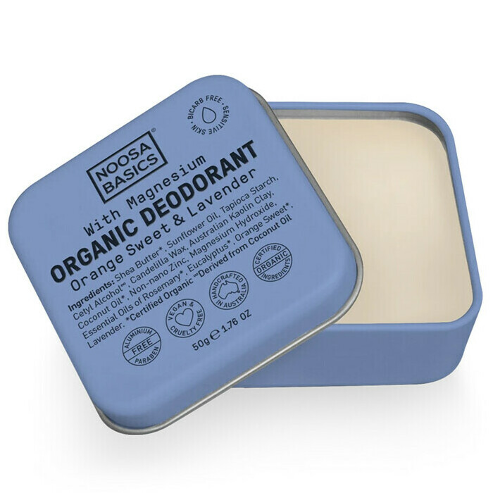 Noosa Basics Deodorant Cream - Sweet Orange & Lavender