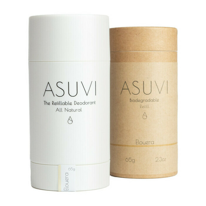 ASUVI The Refillable Deodorant - Elouera