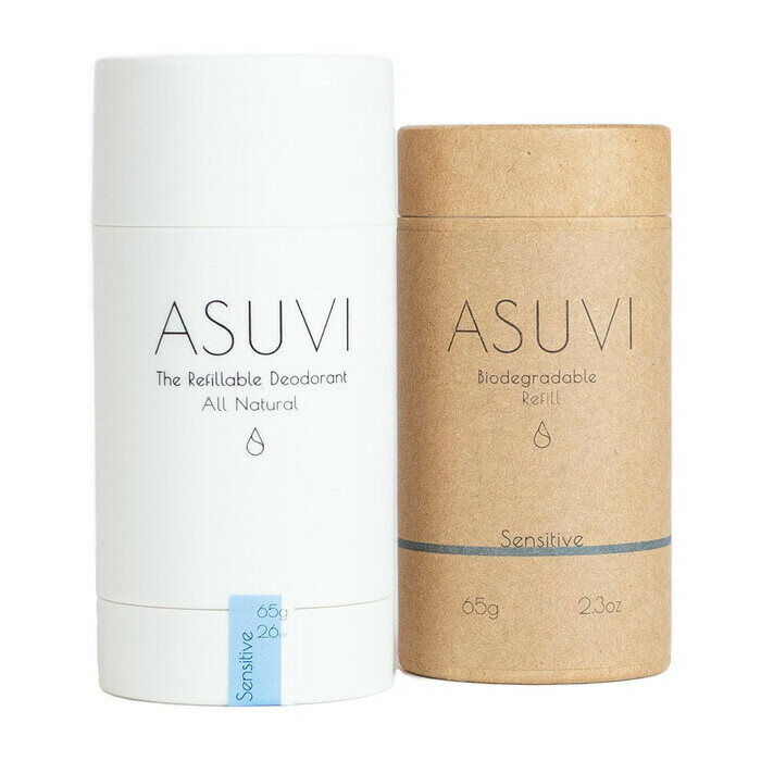 ASUVI The Refillable Deodorant - Sensitive