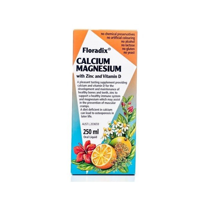 Floradix Calcium Magnesium with Zinc and Vitamin D