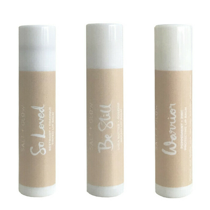 Salt & Glow Lip Balm Set