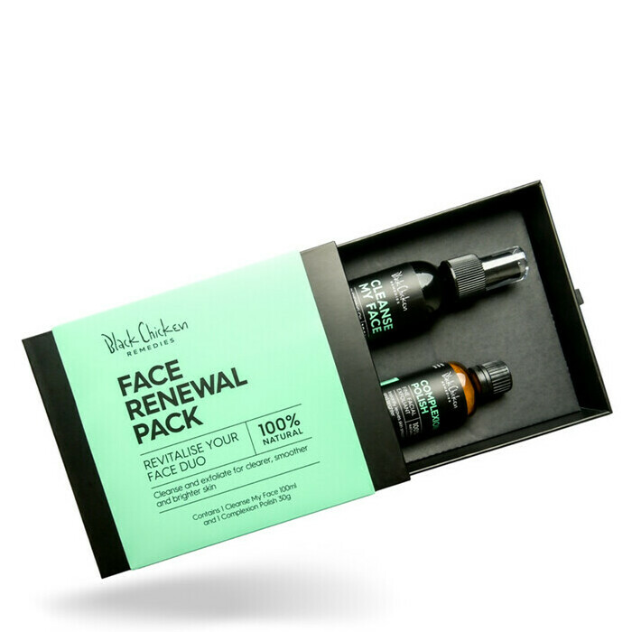 Black Chicken Remedies Face Renewal Pack