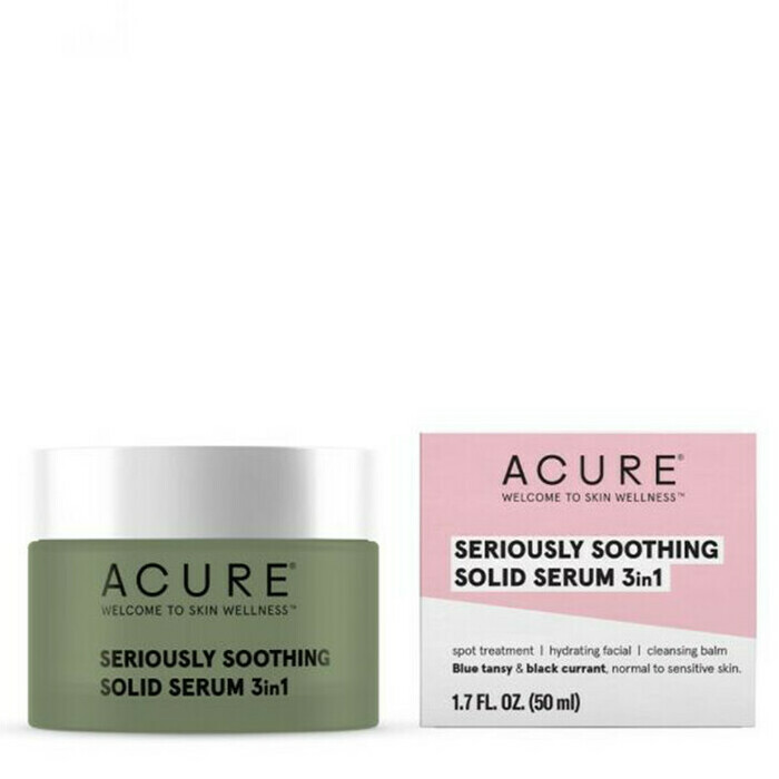 Acure Seriously Soothing Solid Serum 3 in 1