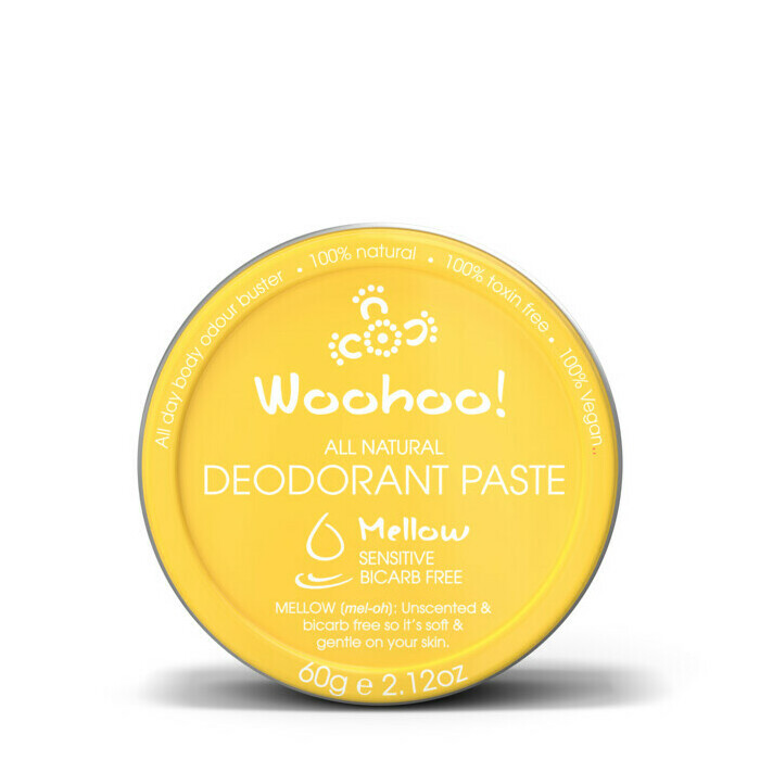 Woohoo All Natural Deodorant Paste Tin - Mellow