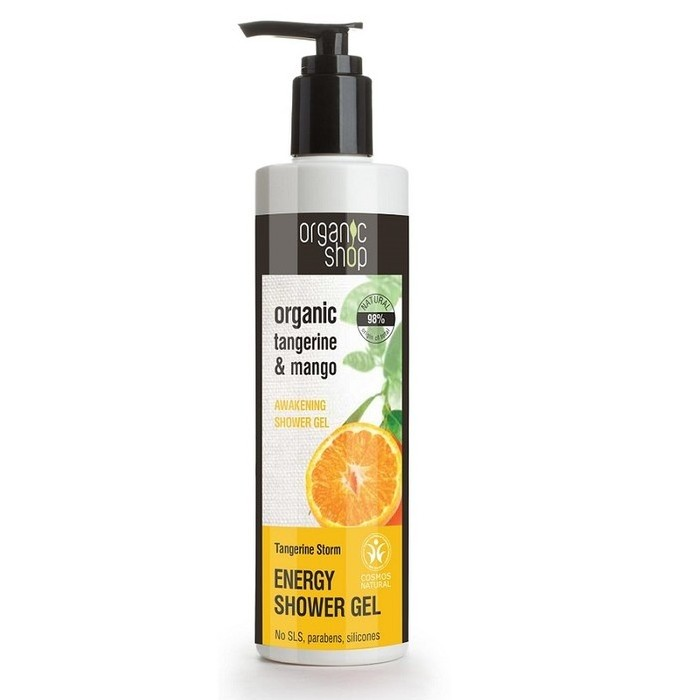 Organic Shop Shower Gel  - Organic Tangerine & Mango